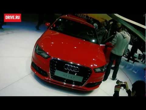 Audi A3 на автосалоне в Женеве-2012