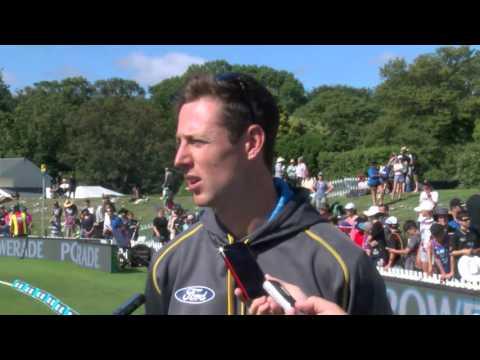 Matt Henry post 1st ANZ ODI v Sri Lanka, Christchurch