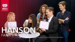 Hanson Duels Fan In Hanson Trivia   Fan Vs. Artist