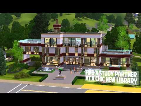 The Sims 3 Town Life Stuff Launch Trailer