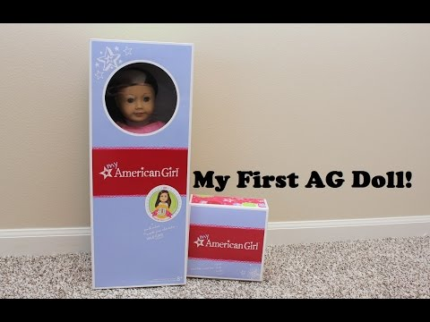My First American Girl Doll! - MAG #60 and Pet - Unboxing and Review!