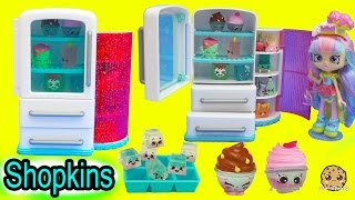 Shopkins Season 6 Chef Club Kitchen Nice N Icy Fridge + 5 Pack with Blind Bag