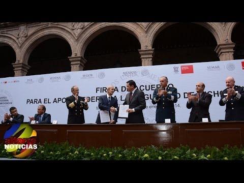 En Michoacán Gobierno Federal asume las funciones del Gobernador en materia de Seguridad