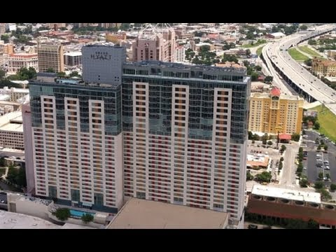 Best San Antonio River Walk Hotels The Grand Hyatt Youtube