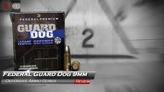 Federal GuardDog 9mm Ammunition Test