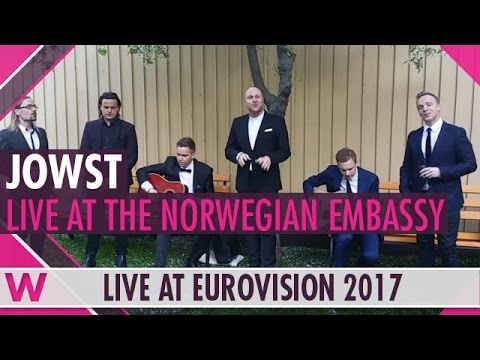 "JOWST (Norway 2017) ""Grab the Moment"" LIVE @ Norwegian Embassy 