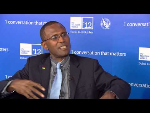 Fred Samuel, Government Chief Information Officer, Vanuatu @ ITU TELECOM WORLD 2012