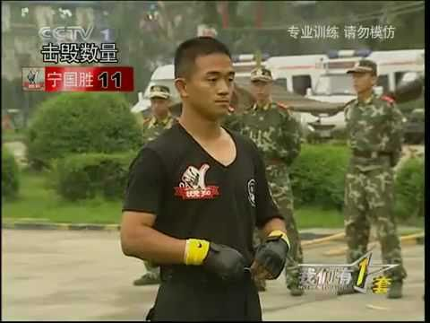 Chinese Police Martial Arts Training Image 1