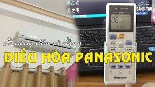 Hướng dẫn sử dụng Khiển điều hòa Panasonic an toàn tiết kiệm điện