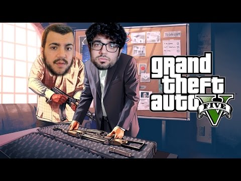 CREEK E FRAX CONTRO LE GUARDIE | GTA 5