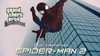 How to install The Amazing Spider Man mod for GTA SA
