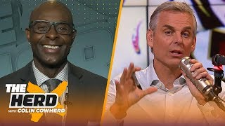 Jerry Rice sees disconnect between Baker & OBJ, Jimmy G capable of carrying 49ers | NFL | THE HERD