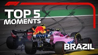 Top 5 Moments | 2018 Brazilian Grand Prix