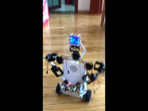 x2 humanoid robot – basic obstacle avoidance