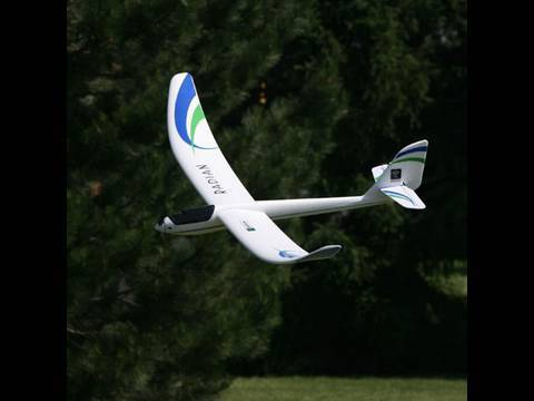 Parkzone Radian RC plane unboxing, maiden flight with on board camera