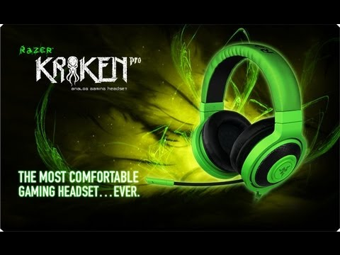 Razer- Primeiras Impressões - Razer Kraken pro