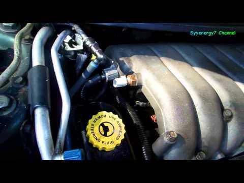Chrysler Sebring. Remove Upper Intake Manifold