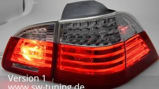 SWCelis LED Rückleuchten für BMW 5er E61 Touring 04-10 red/clear SW-Tuning