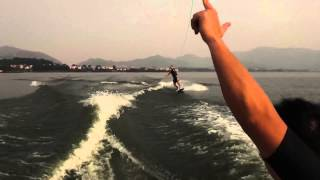 Wakeboarding basic tricks