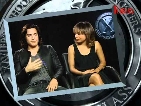 X-Men First Class - Alex Gonzalez and and Zoe Kravitz