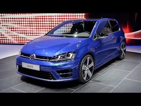 2015 Volkswagen Golf R - Detroit 2014 Walkaround