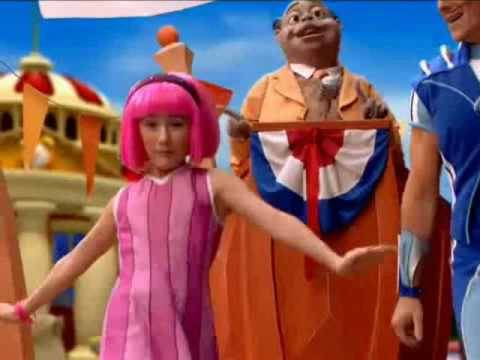 Get on the Lazy Town