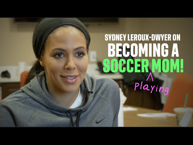 Sydney Leroux Talks about Becoming a Soccer Mom!