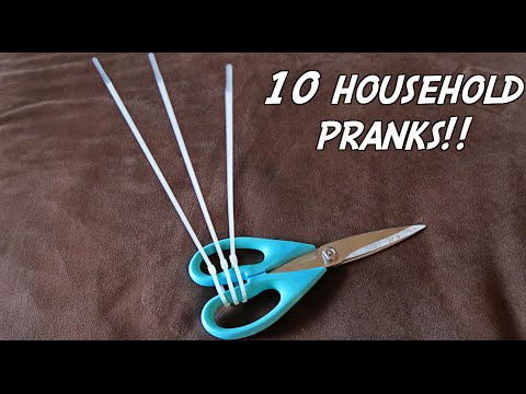 10 HOUSEHOLD PRANKS - HOW TO PRANK