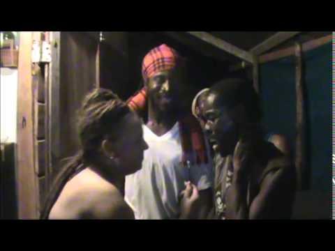 Rasta J Radio sharing some VYBZ live in Jamaica