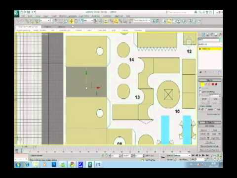 the making of] Danbo Papercraft version 3DS Max