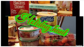 Thanksgiving Grocery haul Part 3 || I'm almost finished getting my food