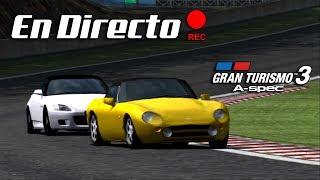 PARA ALGO DEBERÁ SERVIR UN TVR...¿NO? | Gran Turismo 3: A-Spec | PS2 (PCSX2)