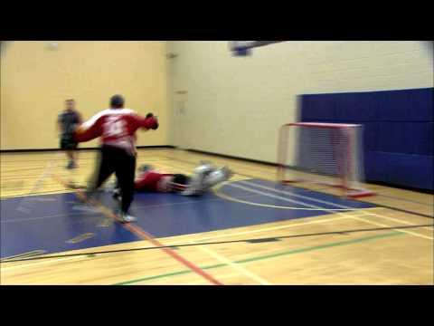hockey intérieur - Défence