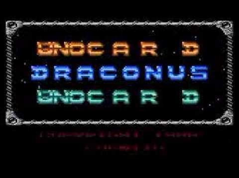DRACONUS Intro (Atari 800 XL)