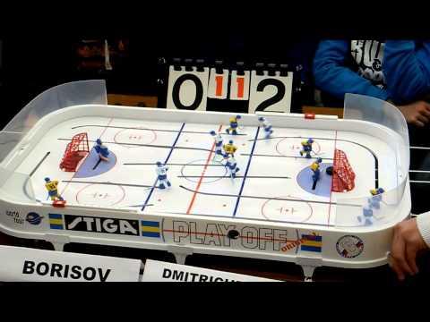 Table Hockey. Moscow Open 13.  Borisov-Dmitrichenko. Game 3
