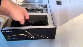 Sony Tablet S Unboxing - Tablet-News.com