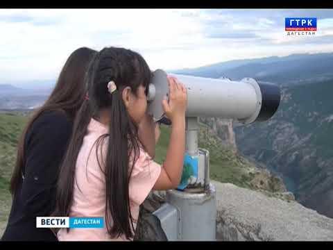 Артём Здунов посетил туристический хаб у Сулакского каньона. 17.06.19 г