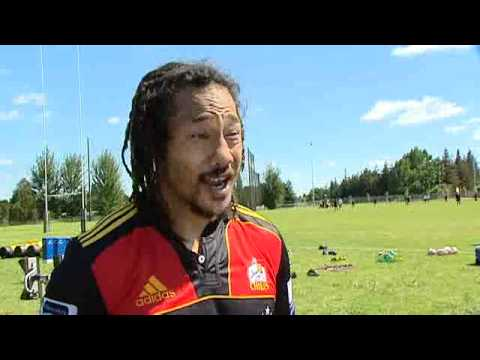 Tana Umaga talks about life as a Chief