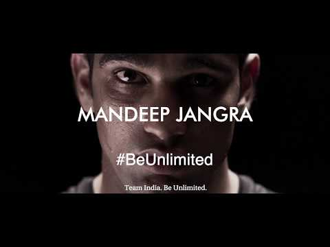 #BeUnlimited With Mandeep Jangra At The Commonwealth Games 2018!