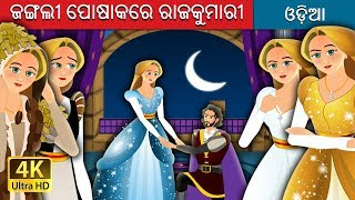 ଜଙ୍ଗଲୀ ପୋଷାକରେ ରାଜକୁମାରୀ   Odia Story   Odia Fairy Tales