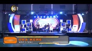 ARIF CITENX - ORA KERE [ OFFICIAL KARAOKE MUSIC VIDEO ]