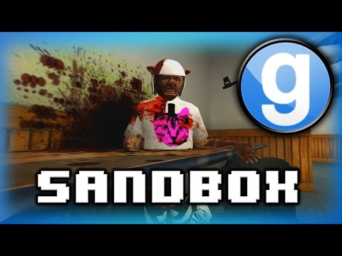 Garry's Mod Sandbox Funny Moments! - Sleeping on the Job, Pokemon, and Helicopter Crashes!