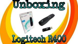 Unboxing Laser Pointer murah berkualitas logitech R400
