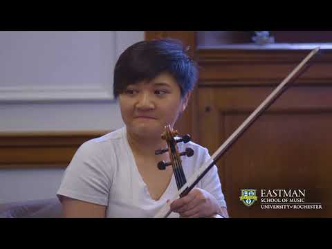 Violin at the Eastman School of Music : Inside the Studio of Juliana Athayde