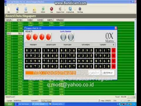 Lotto Togel Analyzer Ver 2.0