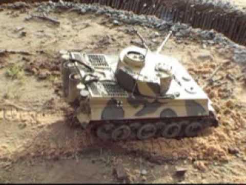Ремонт радиоуправляемого танка своими руками