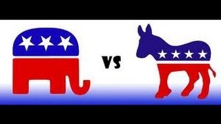 The Difference Between Democrats & Republicans