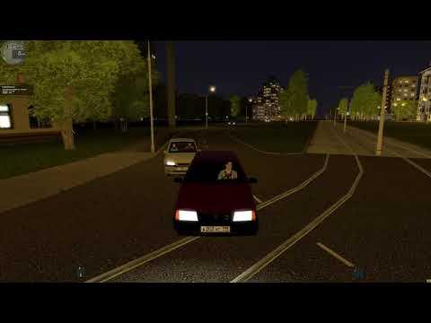 City Car Driving - ездим по городу на ВАЗ 2109
