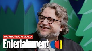 Guillermo del Toro Talks 'Scary Stories to Tell in the Dark' LIVE | SDCC 2019 | Entertainment Weekly