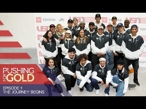 USA Skateboarding National Team | The Journey Begins
